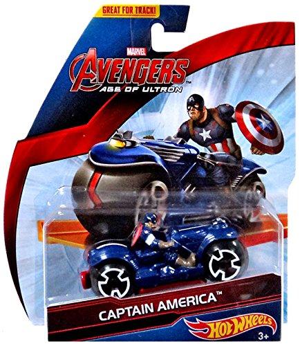 Marvel Avengers Age of Ultron Captain America Diecast Car