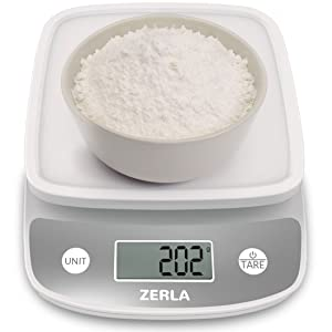 figital kitchen scale by zerla — versatile food scale review