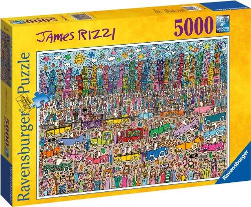 ravensburger james rizzi puzzle 5000 pieces ebay. Black Bedroom Furniture Sets. Home Design Ideas