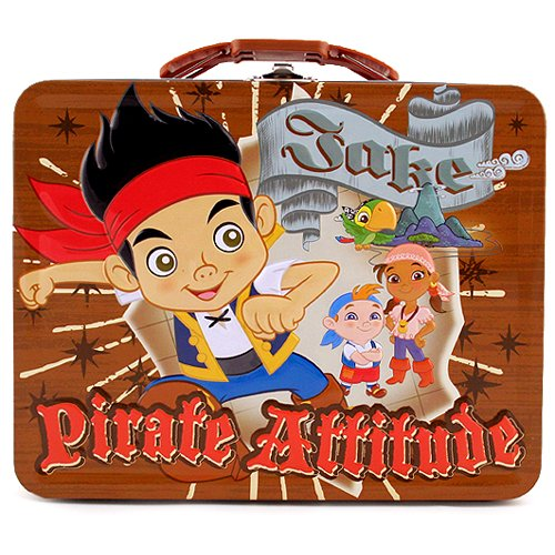 Jake and the Never Land Pirates Large Tin Carry-All [Pirate Attitude] - 1