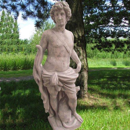 """Statue """"Jäger mit Hund"""" günstig kaufen"""
