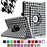 Fintie Apple iPad Air Case - 360 Degree Rotating Stand Case Cover with Auto Sleep / Wake Feature for iPad Air / iPad 5 (5th Generation) - Houndstooth Black