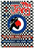 THE JAM -- live at Victoria Hall, Hanley 4th of June 1980 Reproduction Poster Approximate size 11.7