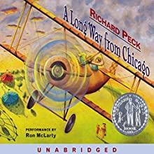 A Long Way from Chicago Audiobook by Richard Peck Narrated by Ron McLarty