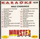 Monster Hits Vol. 1039 Karaoke CDG MALE STANDARDS Sinatra Crosby Bennett Mathis