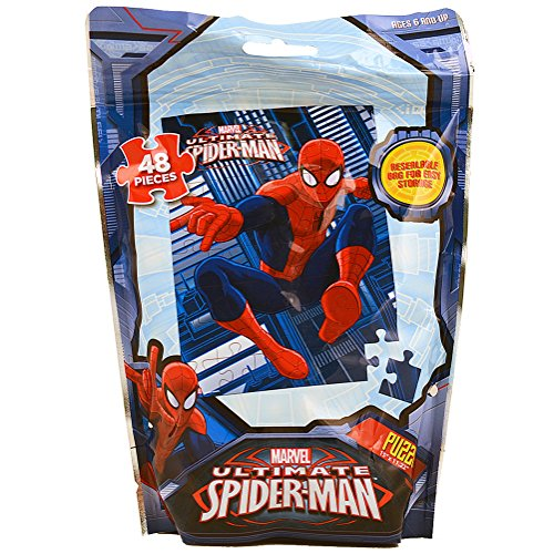 Marvel Ultimate Spider-Man Puzzle [48 Pieces - Resealable Bag] - 1