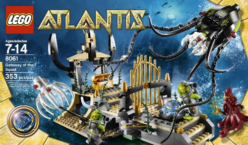 LEGO Atlantis Gateway of the Squid (8061) Amazon.com