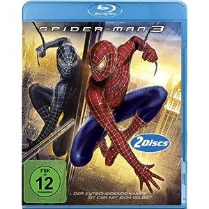 [Amazon] Blu rays: The Green Mile für 8,97€ / Spider Man 3 für 8,46€ / Der Goldene Kompass Steelbook für 6,97€   je inkl. Versand