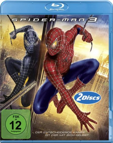 Spider-Man 3 (2 Discs) [Blu-ray]