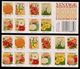Vintage Seed Packets Collectible US Postage Forever Stamps