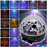 6 Farben LED Disco DJ Bühnenbeleuchtung RGB Crystal Ball Effekt-Licht