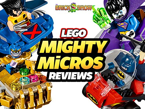 Review: Lego Super Heroes Mighty Micros Reviews