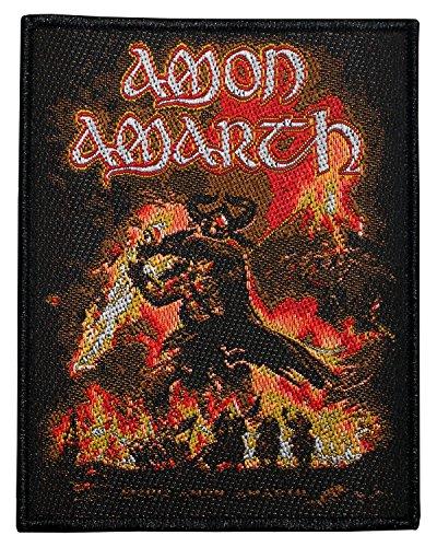 AMON AMARTH SURTUR RISING Woven Sew-On Patch 10 x 8 CM by Amon Amarth