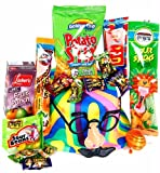 Happy Purim Basket For Kids Fun Hat & Mask
