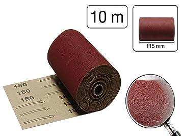 aluminiumoxid schleifblatt 10 m rolle k rnung 180 0 44eur m dee443. Black Bedroom Furniture Sets. Home Design Ideas
