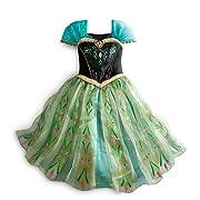 Disney Store Frozen Princess Anna Deluxe Coronation Costume Size Large 9/10