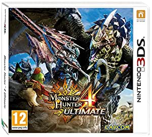 Monster Hunter 4 Ultimate Standard Edition with Felyne Pin - Nintendo 3DS