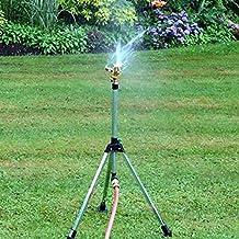 Generic 1/4 Connector Copper Rotate Rocker Arm Water Sprinkler Spray Nozzle Garden Irrigation Sprinkler Garden...