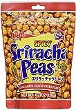 Hapi Snacks - Spicy Sriracha Peas - Chili Garlic Coated Green Peas 4.23 Oz, Pack of 12
