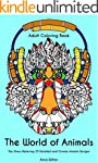 Adult Coloring Book: The World of Ani...