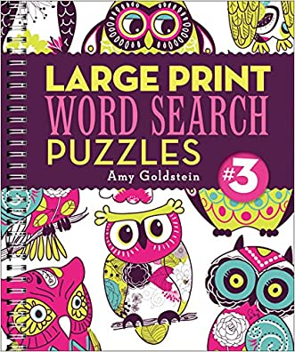 Large Print Word Search Puzzles 3 written by Amy Goldstein