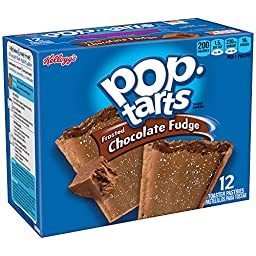 Kellogg\'s Pop-Tarts Toaster Pastries - Frosted Chocolate Fudge - 12 ct