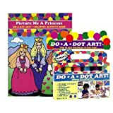 Do A Dot Art Marker Rainbow 6-pack Activity Book Gift Set - Picture Me A Princess