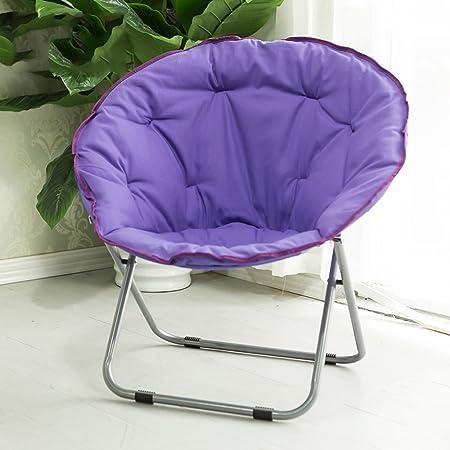 L-R-S-F Tumbona de sofá, silla de luna, silla plegable para adultos, silla de salón casera, sofá perezoso casero, silla del sol, silla del salón del balcón ( Color : 5# )