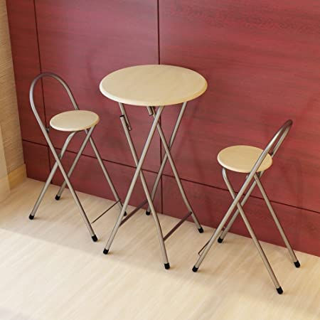 Trona para niños Taburete plegable / mesa de comedor / mesa de ocio / simple taburete / pareja mesa de comedor taburete mesa de café conjunto