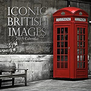 "Iconic British Images 2015 Wall Calendar 12""x12"""