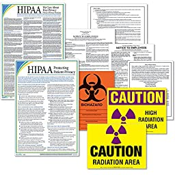 ComplyRight EHSDU SD Healthcare Poster Kit