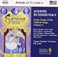 Great Songs of The Yiddish Stage, Vol. 3