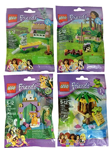 Lego Friends 41019 41020 41022 41042 Bundle (Lego Friends Oasis compare prices)