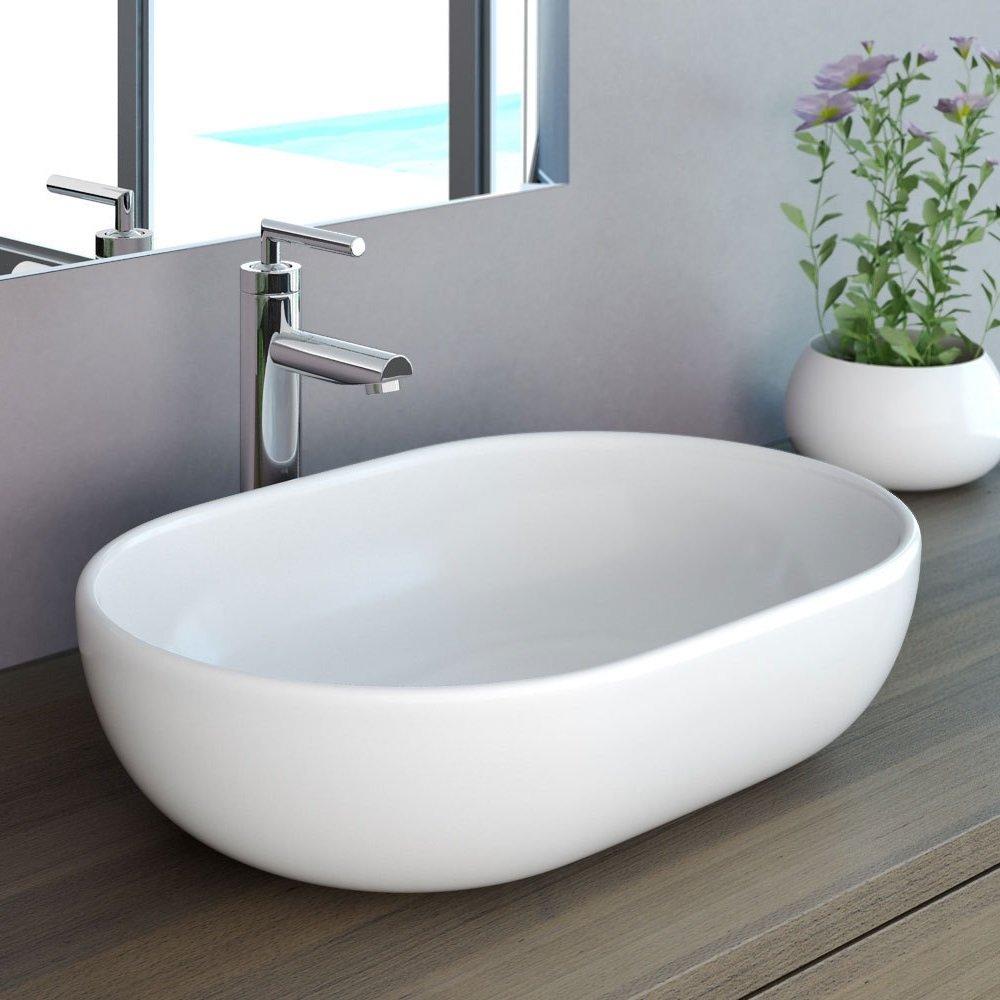 NEG Design Waschbecken Uno34A, AufsatzWaschschale/Waschtisch mit hohem Rand und NanoBeschichtung  BaumarktKundenbewertung und Beschreibung