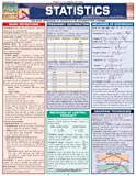 Product 1572229446 - Product title Statistics Laminate Reference Chart: Parameters, Variables, Intervals, Proportions (Quickstudy: Academic )