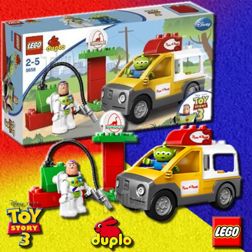 LEGO DUPLO Toy Story Pizza Planet Truck 5658 Amazon.com