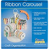 Advantus Cropper Hopper Wire Ribbon Carousel, 8-Inch by 8-Inch by 11-Inch