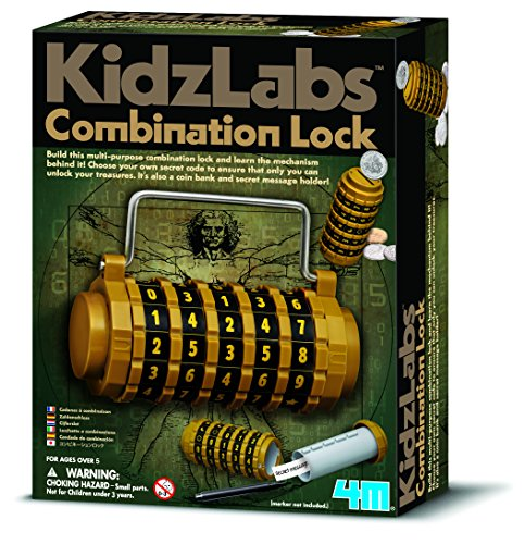 4M - Combination Lock, juego educativo (004M3362)