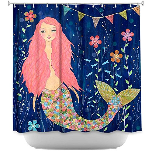 Shower Curtain Artistic Designer from DiaNoche Designs by Sascalia