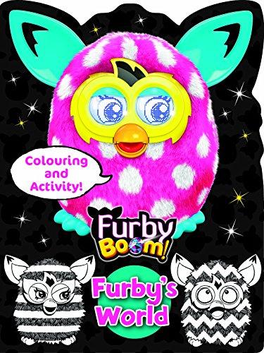 Furby Boom Colouring Book Furby's World