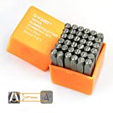 OWDEN Professional 36Pcs. Steel Metal Stamping Tool Set,(1/4