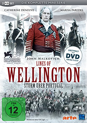 Lines of Wellington - Sturm über Portugal (Die komplette Mini-Serie) [2 DVDs]