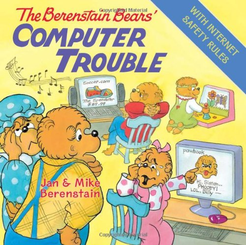 The Berenstain Bears' Computer Trouble front-552949