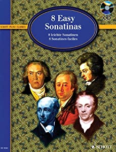 Eight Easy Sonatinas - From Clementi To Beethoven by Schott Musik International GmbH & Co KG
