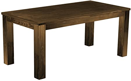 Brasil 'Rio' 177 x 90 cm, Antique Pine Wood Tone Oak Furniture Dining Table