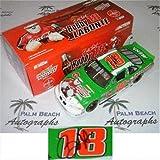 Bobby Labonte Autographed Interstate Batteries #18 (Action) 1/24 Diecast Car