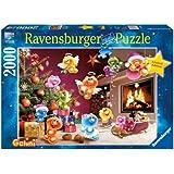 """Ravensburger 16643 - Gelini """"Wilde Weihnachten"""" - 2000 Teile Puzzle"""