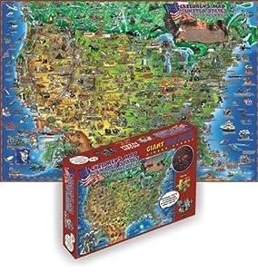 Dino's USA 500-Piece Puzzle