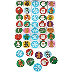 Holiday Roll Sticker Assortment (500 Stickers)