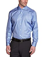 Tommy Hilfiger Tailored - Shannon - Chemise business - Coupe cintrée - Col italien - Manches longues - Homme